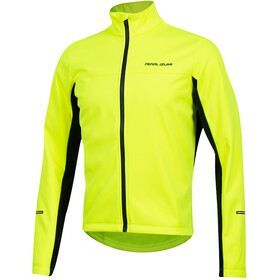 PEARL iZUMi Quest AmFIB Chaqueta Hombre, screaming yellow/navy